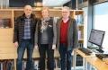 F.v. Helgi Örlygsson, Aðalbjörg Sigmarsdóttir, Eiður Gunnlaugsson